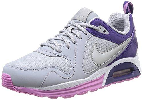Nike Air Max Trax, Chaussures de running femme Multicolore (Wlf Grey/Mtlcc Silver)