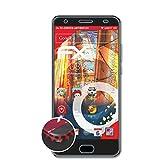atFolix Schutzfolie passend für Oukitel K6000 Plus Folie, entspiegelnde & Flexible FX Bildschirmschutzfolie (3X)