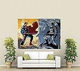 BATMAN VS SUPERMAN GIANT WALL ART POSTER PLAKAT DRUCK ST285