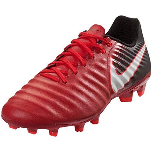 Nike Herren Tiempo Ligera IV FG Fußballschuhe Rot (Universität Rot/Weiß-Schwarz 616)