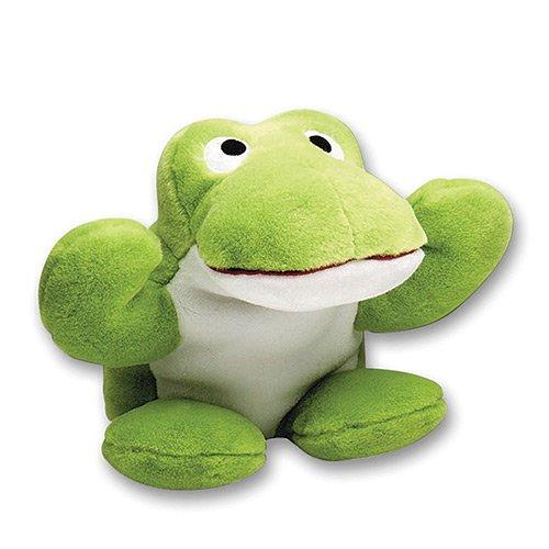 Artikelbild: Hundespielzeug - sehr großen Frosch Hundespielzeug. Dieses Hundespielzeug hat eine Quietsche im Bauch und ein lautes Geräusch Frosch im Kopf, wenn sie gedrückt wird beginnt. Gesamtlänge ca. 18 '/ 46 cm. Grün.