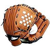 qianzhi Baseball Handschuh im Freiensport Softball Praxis verdicken Ausr¨¹Stung 10.5/11.5/12.5 Zoll Linke Hand f¨¹r Kinderjugend Erwachsene