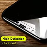 Tocoss(TM) Curvo bordo temperato protezione in vetro per iPhone X protezioni dello schermo 3D copertura completa privacy per il film di vetro iPhone X [Alta Definizione]