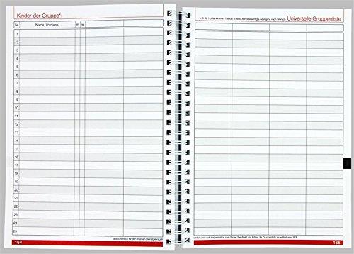 Flöttmann Kompaktplaner für Erzieherinnen und Erzieher 2018 - 2019 - A5 Kalender - Kita-Planer - 6