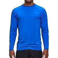 Arcweg Rashguard Men Long Sleeves Diving UV Protection UPF 50+ Elastic Rash Vest Loose Fit Top Swimming Quick Drying…