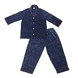 #7: GiggleBuns Cotton Blue Checks Night Suit Set for baby boys sleepwear for kids