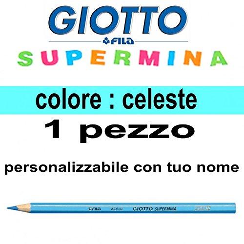 Pastello Giotto Supermina celeste (numero 22) da 3,8 mm giotto supermina sfuso