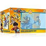 Grandi Giochi gg00169–Invizimals Pack Hiro & Dragon