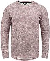 SOLID Gulliver Herren Sweatshirt Pullover Sweater mit Rundhals-Ausschnitt aus 100% Baumwolle