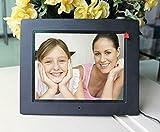 Wetop Digitaler Bilderrahmen (20,3cm (8 Zoll) Display, mit 1 GB Memory, Fernbedienung) schwarz