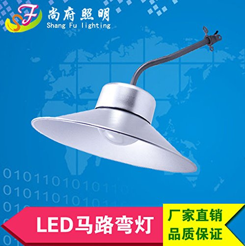 PinWei_ Impermeabile LED ad alta baia Officina Officina lampada lampadina faretto soffitto lampada fabbrica magazzino (Legno Della Struttura Del Soffitto Apparecchio Apparecchio)