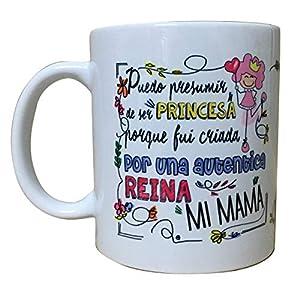 ARTEMODEL Taza mamá Princesa, Multicolor (1)