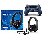 Lavinso Sony Playstation Doré Casque sans Fil Son Surround 7.1PS4Nouvelle...