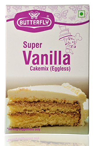 Instant Butterfly Cake Mix, Vanilla, 200 Grams