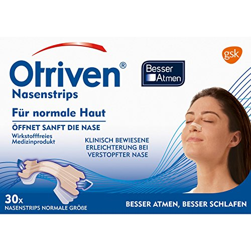 Otriven Besser Atmen Nasenstrips normal beige 30 stk