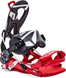SP-United SP Core FT Snowboardbindung, Black/Red, M