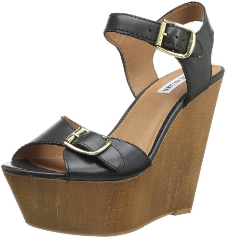 Steve Madden Breeann s Femmes Noir Cuir Chaussures  s Breeann Pointure EU 36,5B00CU59F7MParent 99701d