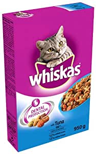 Whiskas Cat Food Complete Tuna 950 g (Pack of 5)
