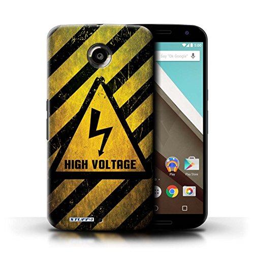 Coque de Stuff4 / Coque pour LG Google Nexus 5/D821 / Bombe Atomique Design / Signes de Danger Collection électricité