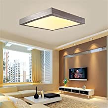 16W LED Warmweiss Modern Deckenlampe Deckenleuchte Schlafzimmer Kche Flur Wohnzimmer Lampe Wandleuchte Energie Sparen Licht Silber