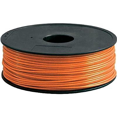 Renkforce Filament PLA300O1 PLA 3 mm Orange 1 kg