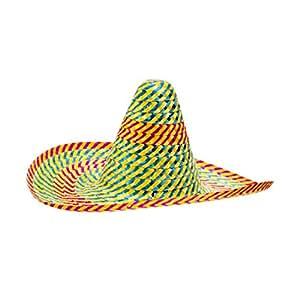 Sombrero mexicain chapeau Acapulco Mexique chapeau d'été chapeau de soleil chapeau de paille chapeau de fête carnaval Mardi gras