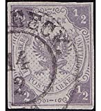 Goldhahn Lübeck Nr. 6 gestempelt Geprüft Briefmarken für Sammler