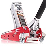 XXR Tools Wagenheber hydraulisch, 1,25t, Aluminium-Legierung, niedriges Profil