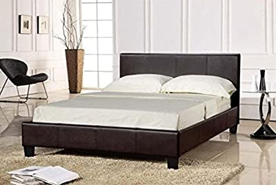 4ft6 Prado Bed Frame in Black Frame Only