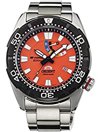 "Orient M-Force ""bravo"" buceo deportes automático Potencia reserva 200M sel0a003m"
