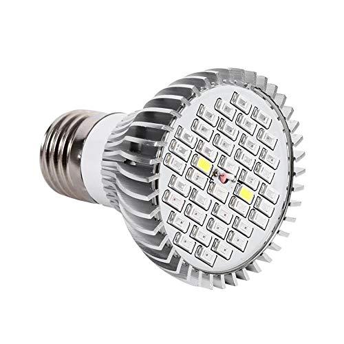Luz de planta, 1 pieza, 30W, 50W, 80W, E27,LED, eSpectro completo, lámpara de crecimiento de plantas, horticultura, bombilla para jardí