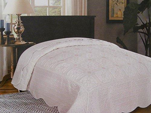 Copriletto trapuntato elegance con imbottitura da 200 gr misura 2 piazze matrimoniale cm 255x255 dis 2