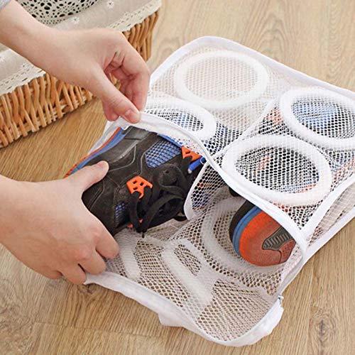 YPMMX Scarpe Appendere a Secco per Capi di Lavanderia Proteggere la Lavatrice Lavare Lo Strumento di Pulizia per Strumenti di Pulizia per Sacchi a Rete