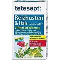 tetesept Reizhusten & Hals Lutschtabletten - zuckerfrei mit Füllung – Lutschpastillen bei Erkältungsbeschwerden... preisvergleich bei billige-tabletten.eu