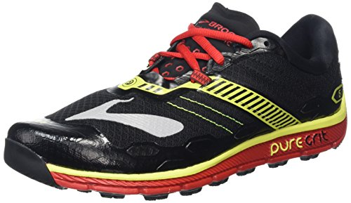 erren Laufschuhe, Mehrfarbig (Black/High Risk Red/Nightlife), 43 EU ()