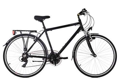 KS Cycling Trekkingrad Herren 28'' Canterbury schwarz RH54cm Aluminiumrahmen Flachlenker