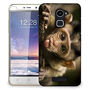 Snoogg Teasing Monkey Designer Protective Back Case Cover For COOLPAD NOTE 3 LITE