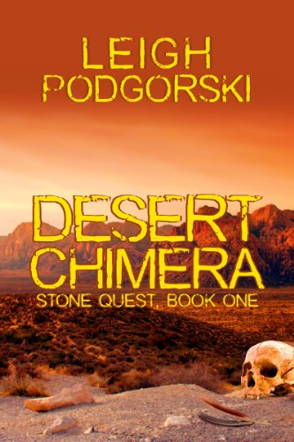 Book cover image for Desert Chimera (Stone Quest Book 1)