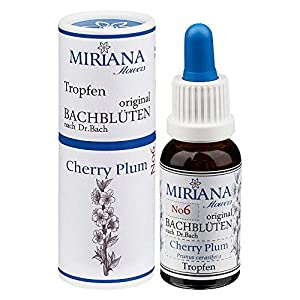MirianaFlowers Cherry Plum 20ml Bachblüten Stockbottle