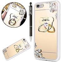 iPhone 6S Hülle,iPhone 6 Hülle,SainCat Mirror Effect Soft TPU Case Spiegel Gold Silikon Hülle Luxus Bling Glänzend... preisvergleich bei billige-tabletten.eu