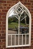 Capulet Minaret-Style Garden Mirror 122 x 69