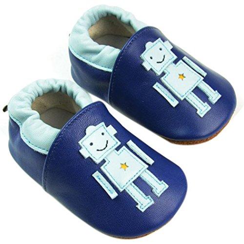 Weicher Leder Lauflernschuhe Krabbelschuhe Babyschuhe für Baby Jungen Mädchen mit vielen Modelle Style 19