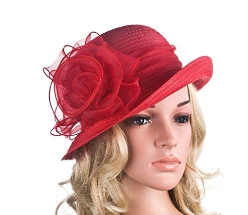 Antique Future Hat - Capeline - Femme Multicolore Multicoloured Taille Unique red