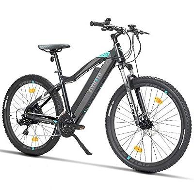 Fitifito MT27,5 Plus-48V/MT27,5 Plus Elektrofahrrad Mountainbike E-Bike Pedelec 48V 13Ah 624Wh LG /36V 14.5Ah 522W Samsung Cells Lithium-Ionen USB, 48/36V 250W Heckmotor