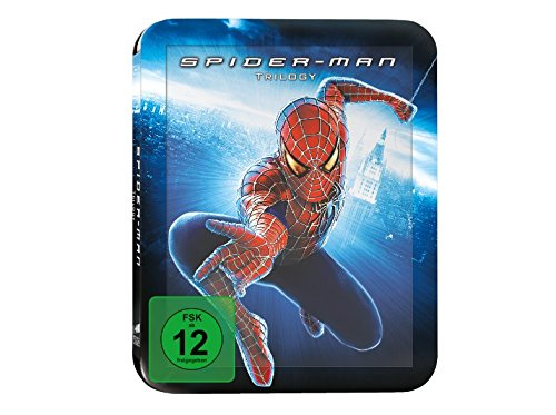 Spider-Man 1-3 Trilogie - Exklusiv Limited 4 Disc Steelbook Edition (Teil 3 Bonus Disc) - Blu-ray