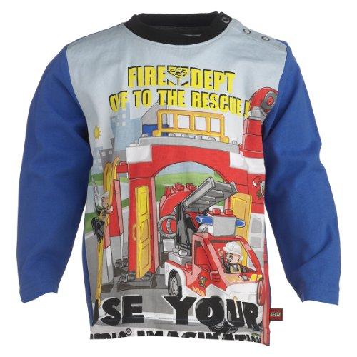 Lego Wear Baby-Jungen Sweatshirt 13966 TINO 701-T-SHIRT L/S, Gr. 86, Blau (560 STRONG BLUE)