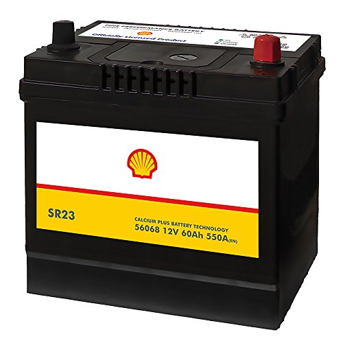 Preisvergleich Produktbild Shell SR23 Asia Autobatterie 12V 60AH 550A / EN 56068 Pluspol Rechts