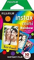 Le film instax mini convient à tous les appareils Instax Mini. Il offre d'impressionnantes images instantanées que vous pouvez emporter dans votre sac à main, votre portefeuille ou dans un mini cadre photo. Le film Instax assure une reproduction idéa...