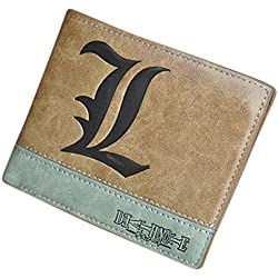 Anime - Cartera para Hombre marrón Death Note