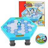 Yezelend Pinguin Trap Tischspiel Desktop Spiel , Tefamore Balance Eiswürfel Speichern der Pinguin Eis Brechen Interaktive Party-Spiel Familie Strategie Spiele